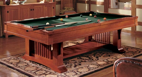Brunswick Mission Pool Table