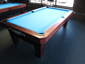 Diamond pro am 9 foot pool table for 10 foot billiard table